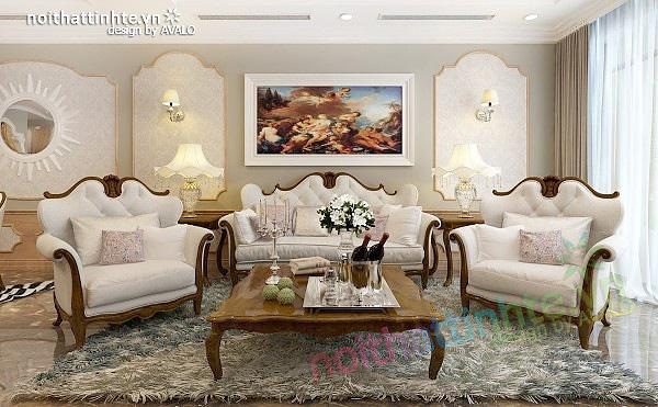 Thiết kế nội thất chung cư Royal city 135 m2 72 Nguyễn Trãi