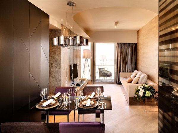 Thiết kế nội thất chung cư thanh lịch The Mont - Hong Kong