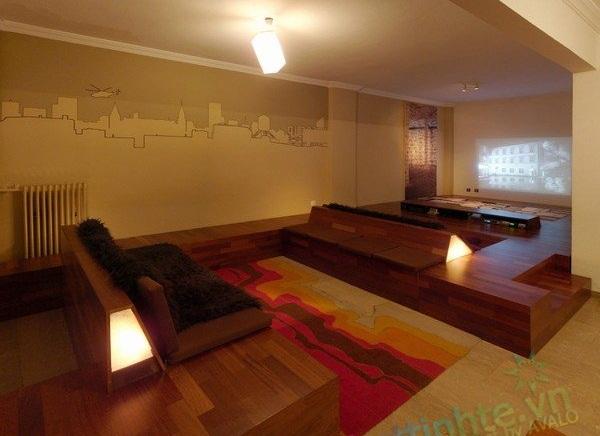 Thiết kế nội thất chung cư Thessaloniki