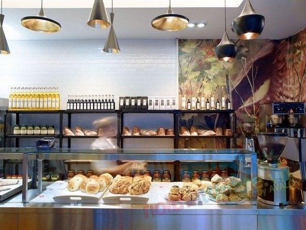 Thiết kế nội thất chuỗi cửa hàng bánh Bit 48 Bogstadveien