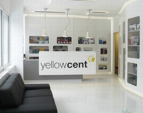 Thiet ke noi that cua hang nho Yellowcent Shop