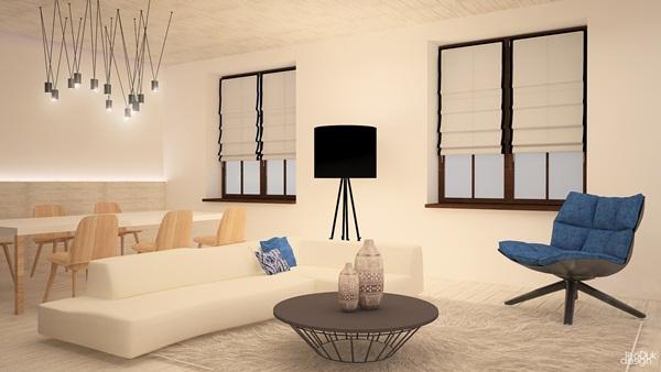 Thiết kế hiện đại và sang trọng của chung cư 75m2