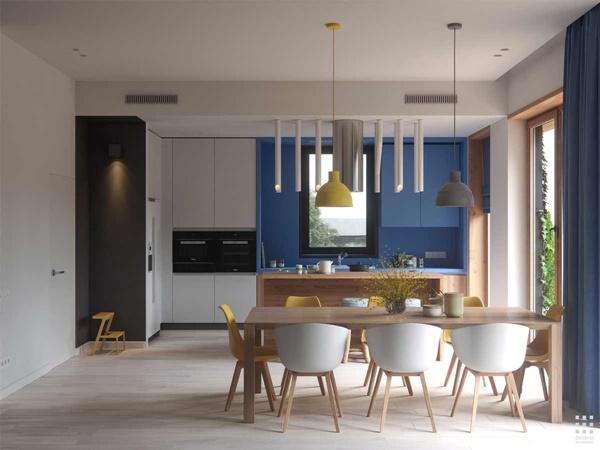 Thiết kế nội thất nhà đẹp theo phong cách nhẹ nhàng trẻ trung