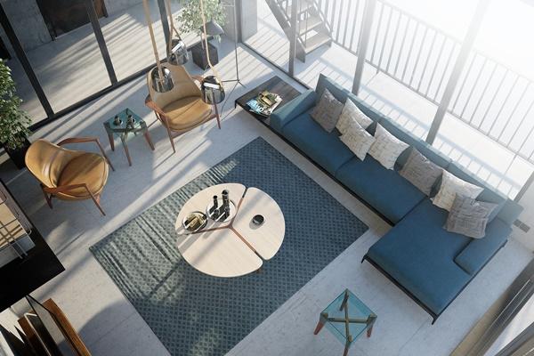 Thiết kế nội thất nhà đẹp phong cách Loft