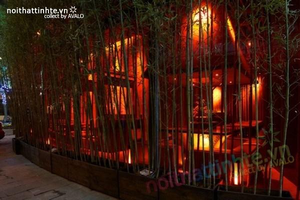 Thiết kế nội thất nhà hàng Kemuri – Thượng Hải