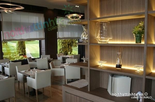 Thiết kế nội thất nhà hàng thanh lịch Marchi