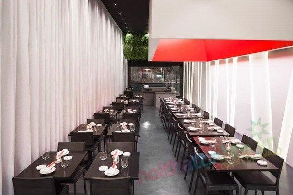 Thiết kế nội thất nhà hàng Yojisan Sushi