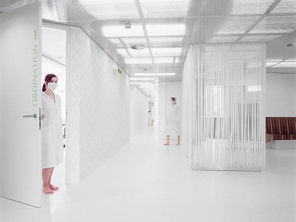 Thiết kế nội thất phòng khám nha khoa GKK