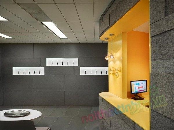 Thiết kế nội thất phòng khám nha khoa Patron DDS