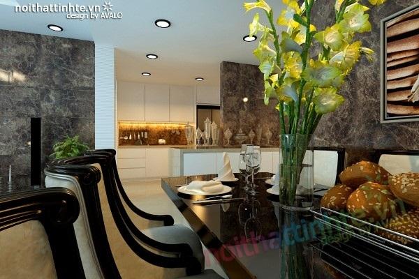 Thiết kế nội thất Skycity 88 Láng Hạ-nhà chị Mai