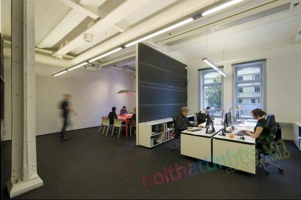 Thiết kế nội thất văn phòng làm việc nhà máy tại Ericksgatan-Stockholm