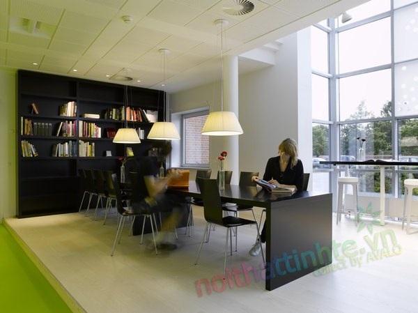 Thiết kế nội thất văn phòng Lego Group