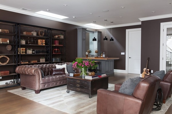 Thiết kế nội thất phòng khách kiểu Anh