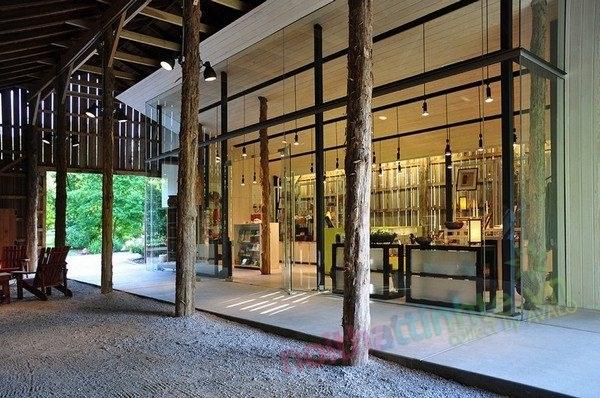 Thiết kế trung tâm khách hàng vườn quốc gia Yell Dell