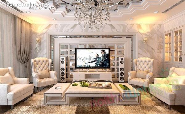 Thiết kế nội thất sang trọng của chung cư Hà Đô Park view