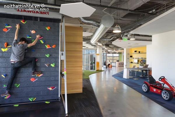 Thiết kế nội thất văn phòng Godaddy