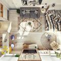 Thiết kế nội thất căn hộ xinh xắn phong cách Scandinavian