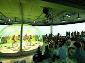 Thiet ke noi that gian hang Expo Zaragoza 2008 Austrian