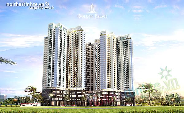 Thiết kế căn hộ cao cấp của AVALO tại Golden Palace