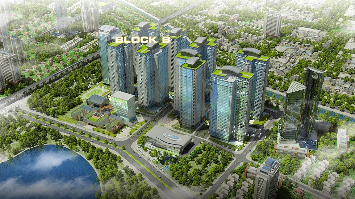 Thiết kế nội thất chung cư Goldmark City Hồ Tùng Mậu