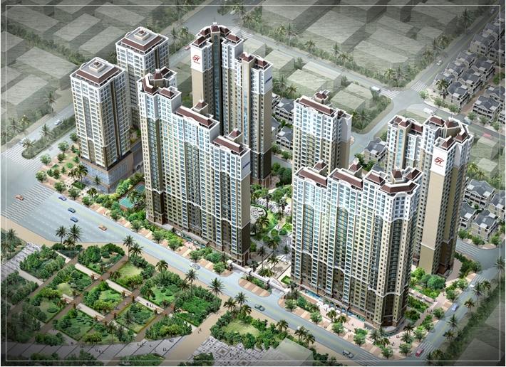 Thiết kế nội thất Chung cư Huyndai Hillstate Hà Đông