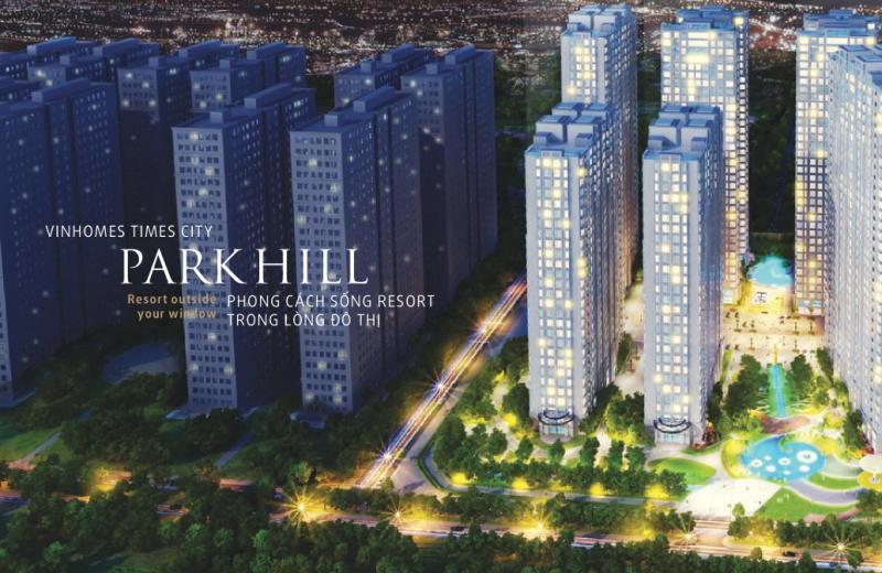 Thiết kế nội thất chung cư Park Hill Premium