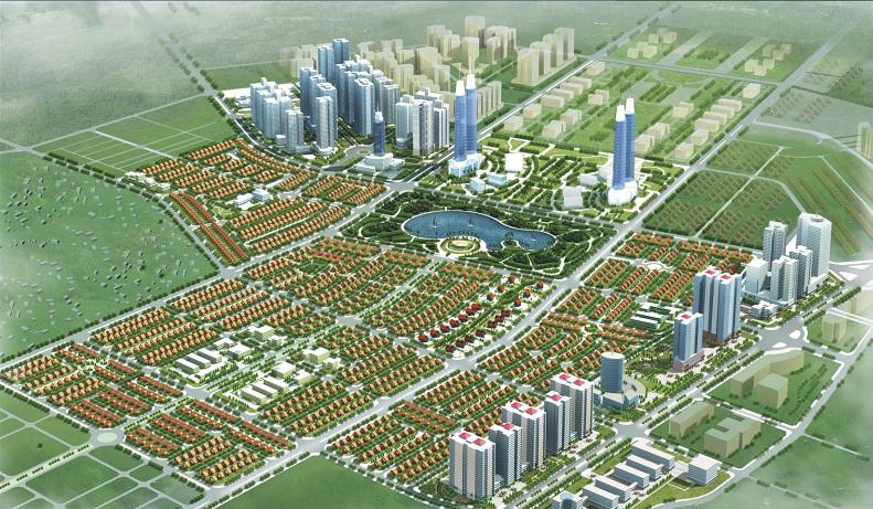 Thiết kế chung cư và biệt thự Khu đô thị mới Dương Nội