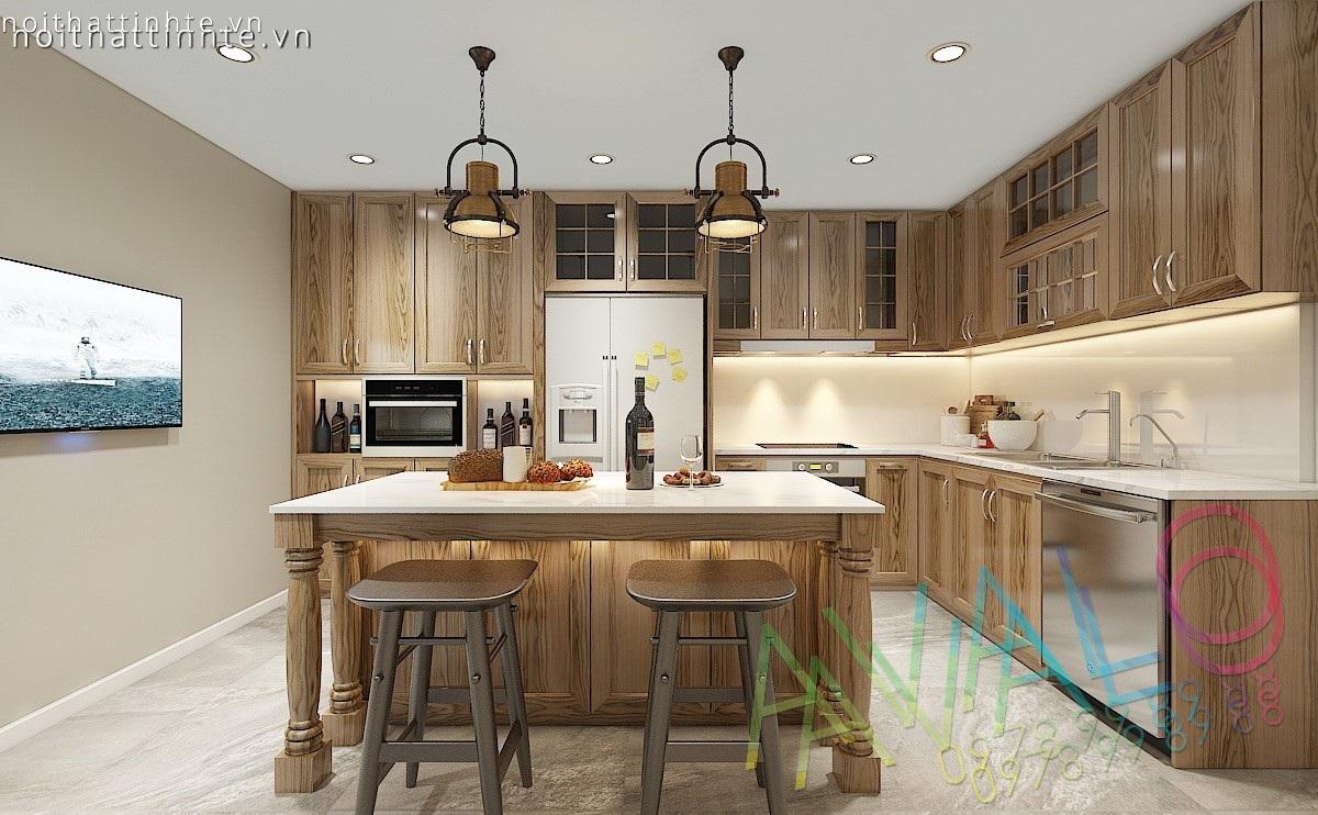 Thiết kế nội thất nhà bếp đẹp, hiện đại, tinh tế - Avalo