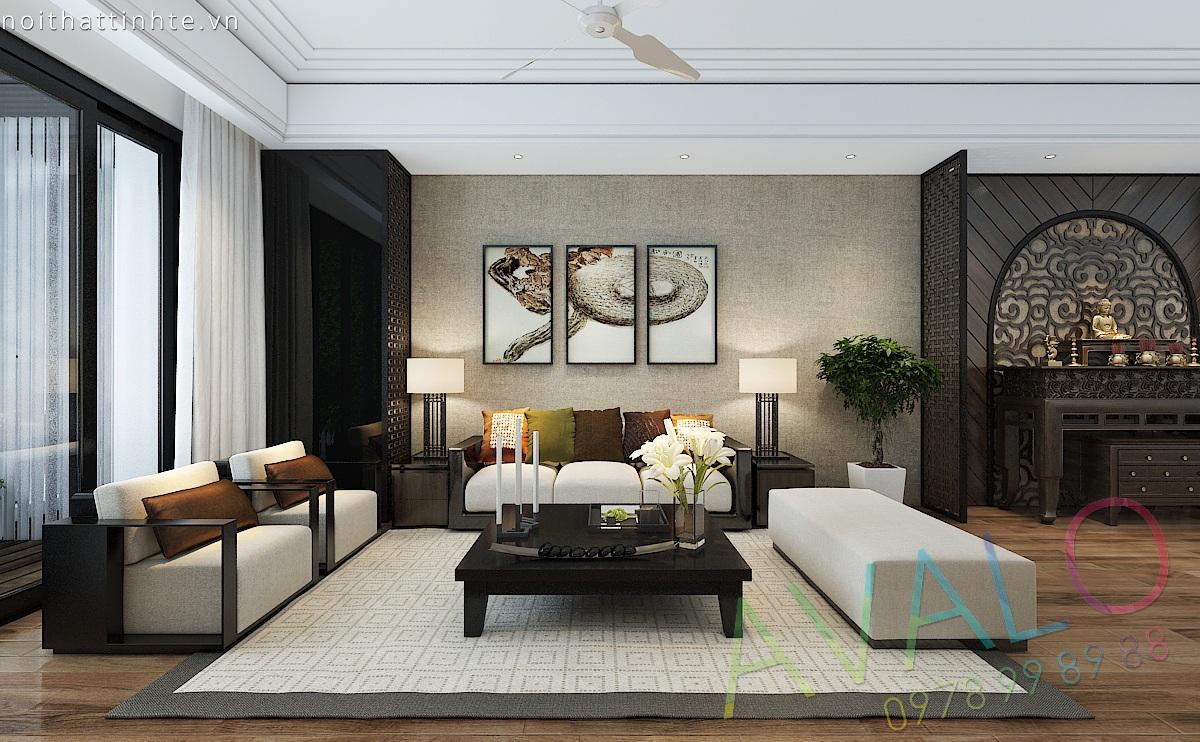 Thiết kế nội thất phòng khách đẹp - AVALO