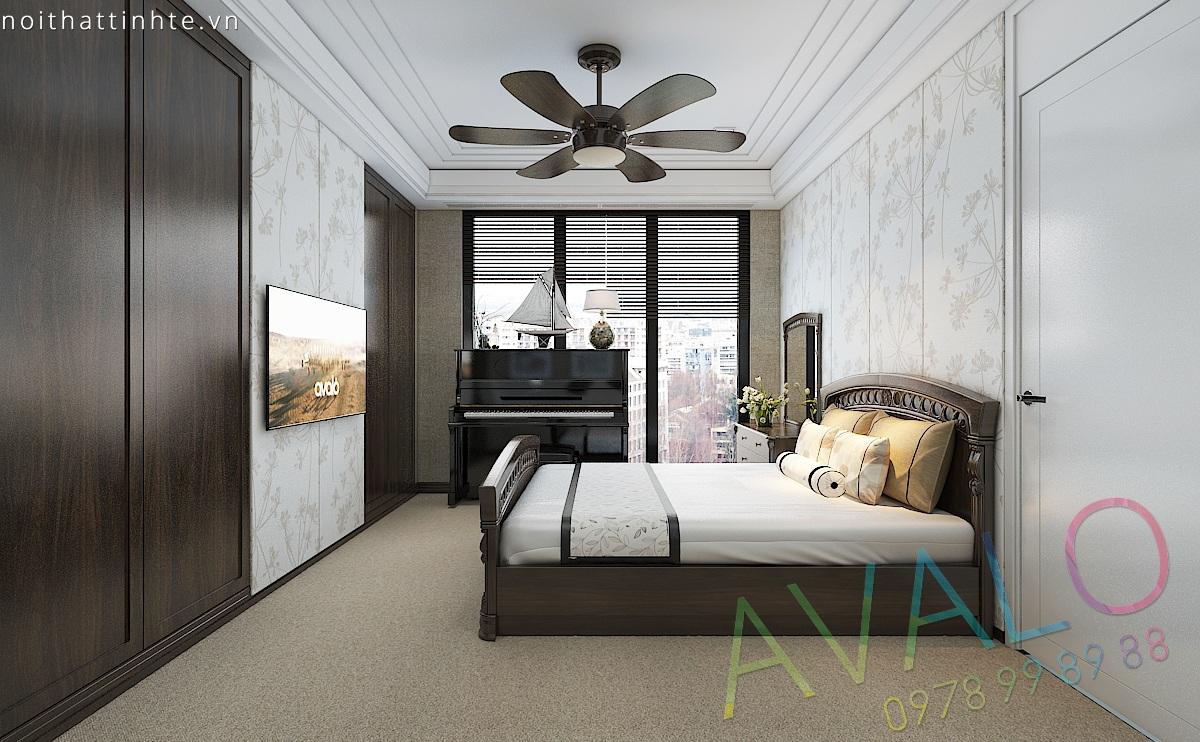 Thiết kế nội thất phòng ngủ đẹp - Mẫu trang trí phòng ngủ  - Avalo