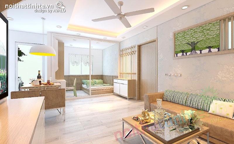 Thiết kế nội thất Chung cư Kim Văn Kim Lũ