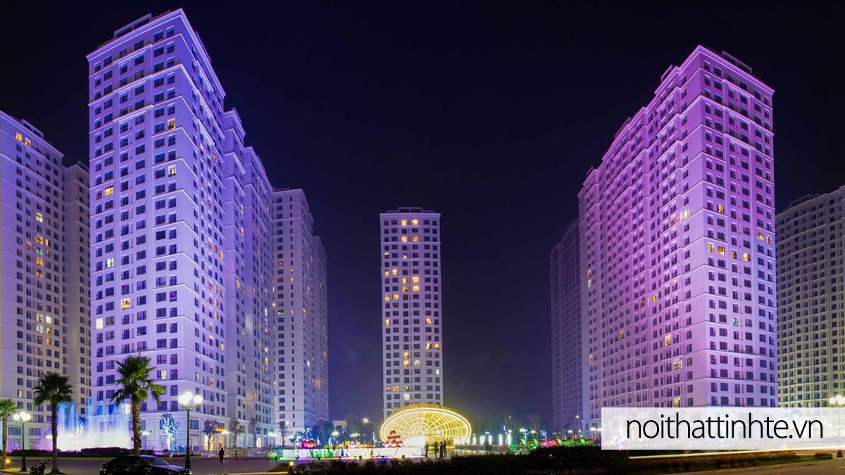 Thiết kế nội thất chung cư Times City Minh Khai
