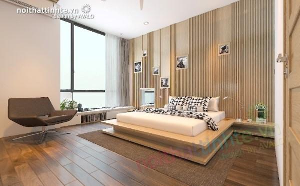 Phòng ngủ thiết kế phong cách hiện đại