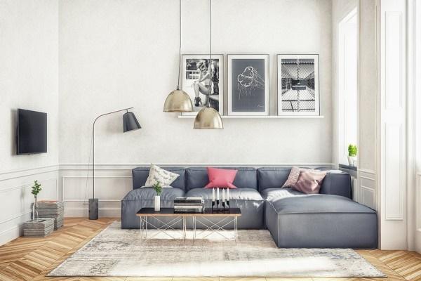 Kết quả hình ảnh cho phong cách hiện đại tối giản