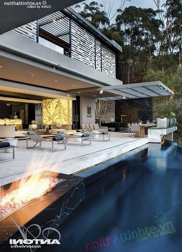 Biệt thự đẹp 2 tầng ở Cape Town 11