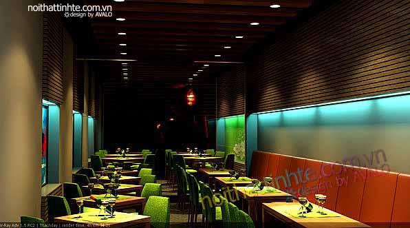 Quầy Bar đẹp -  Nhà hàng LOFT 143 Bà Triệu 01