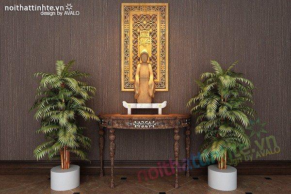 Mẫu bàn thờ gia tiên đẹp 05