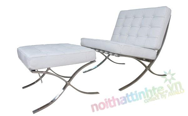 Ghế bành Barcelona Chair 02