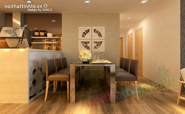 trang trí phòng ăn đẹp 05