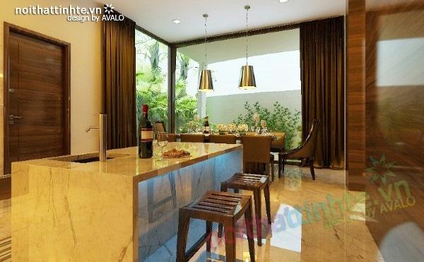 Thiết kế nhà bếp đẹp phong cách Đức 03