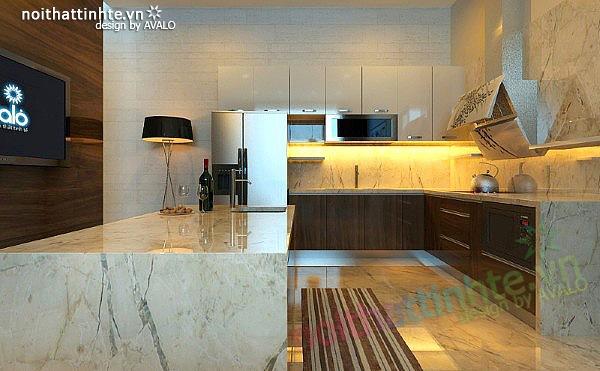 Thiết kế nhà bếp đẹp phong cách Đức 04