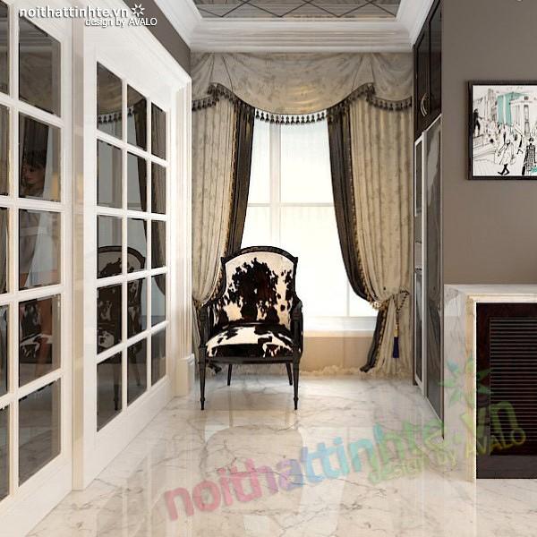 Thiết kế nội thất nhà Bếp Royal city anh Quang 08