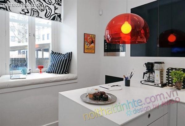 Thiết kế nội thất tinh tế căn hộ 2 phong 50m2-02