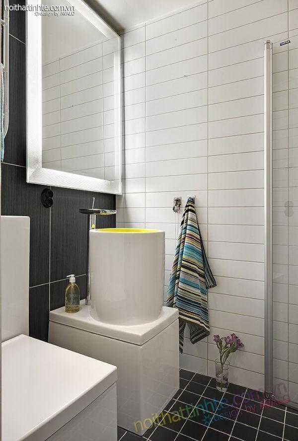 Thiết kế nội thất tinh tế căn hộ 2 phong 50m2-12