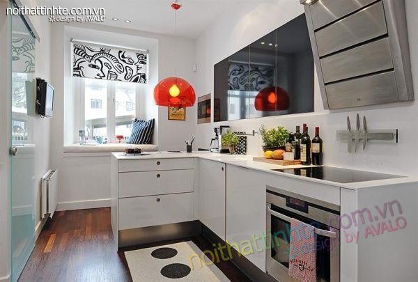 Thiết kế nội thất tinh tế căn hộ 2 phong 50m2-15
