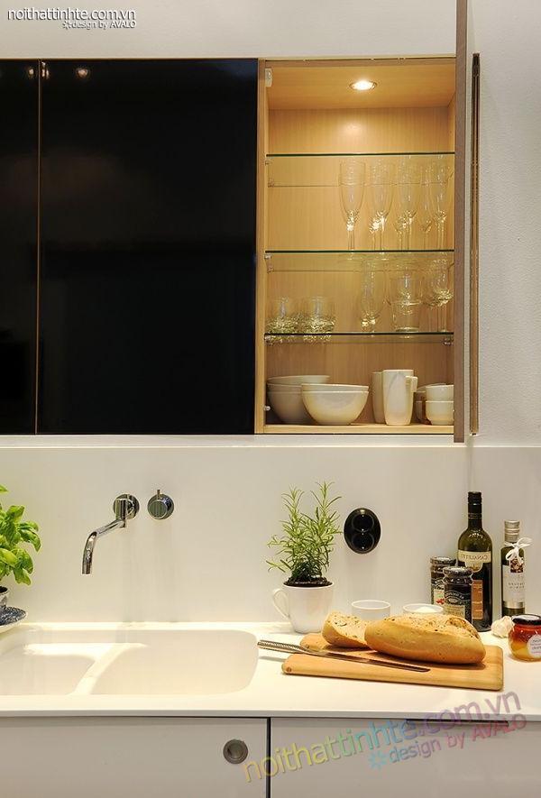 Thiết kế nội thất tinh tế căn hộ 2 phong 50m2-16