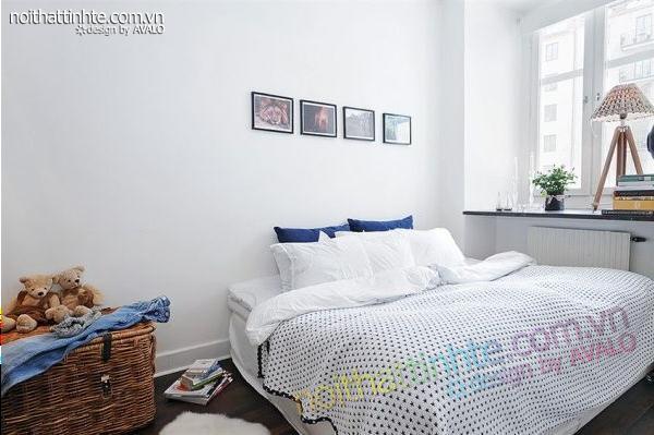 Thiết kế nội thất tinh tế căn hộ 2 phong 50m2-17
