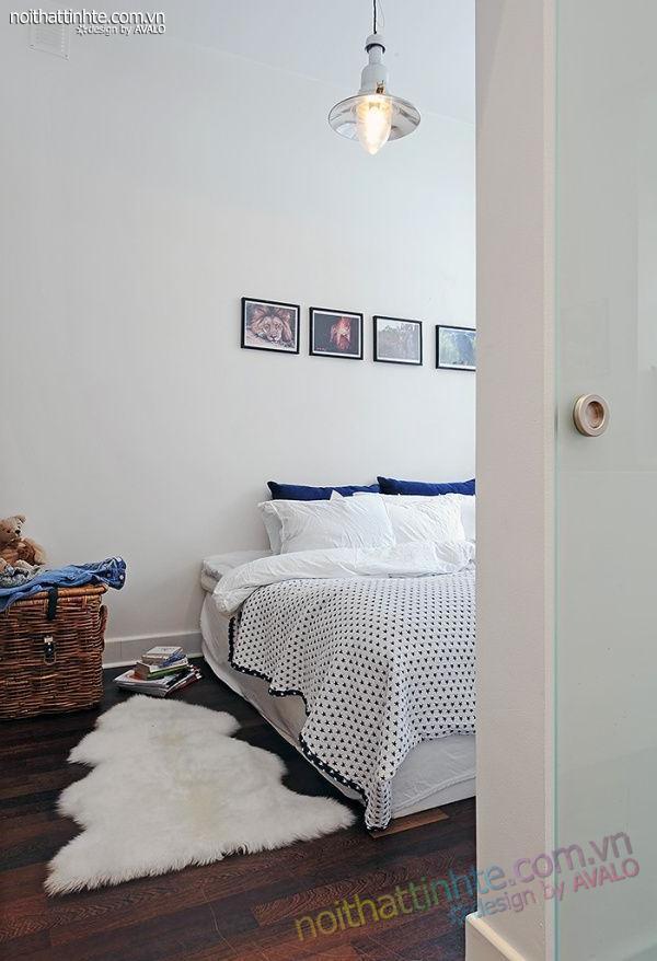 Thiết kế nội thất tinh tế căn hộ 2 phong 50m2-22