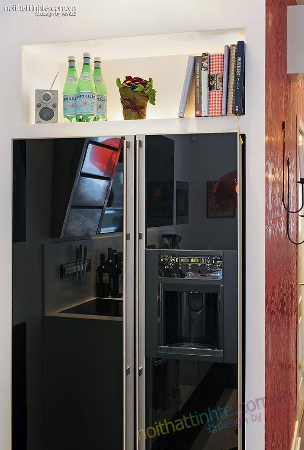 Thiết kế nội thất tinh tế căn hộ 2 phong 50m2-23