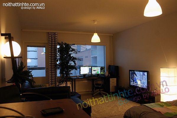 Thiết kế nội thất tinh tế Avalo- Căn hộ 42m2-Tiện nghi và ấm-01